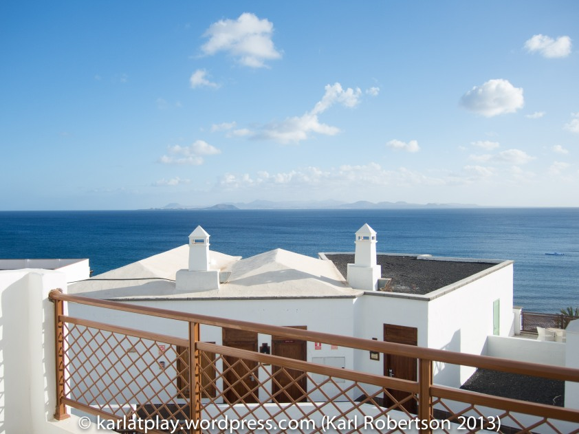 View from Dream Hotel Gran Castillo, Lanzarote