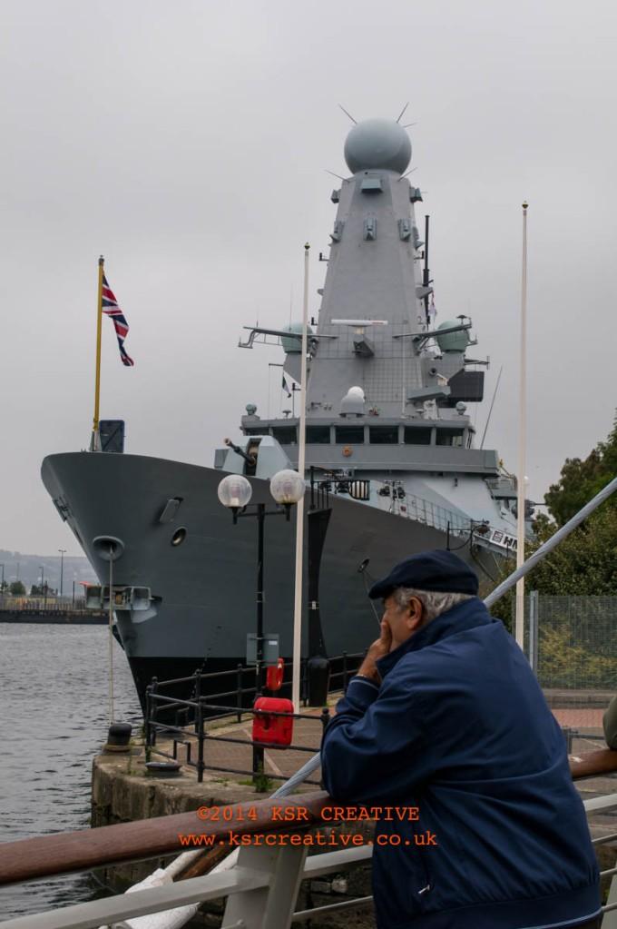HMS Duncan, Cardiff Bay