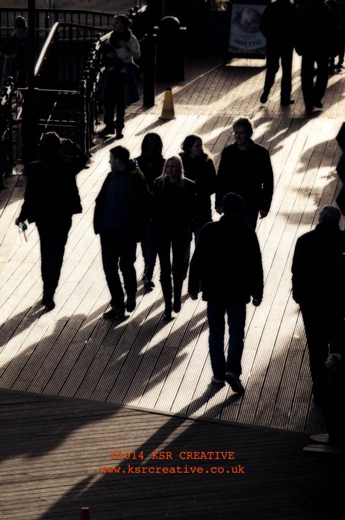 long focal length, long shadows