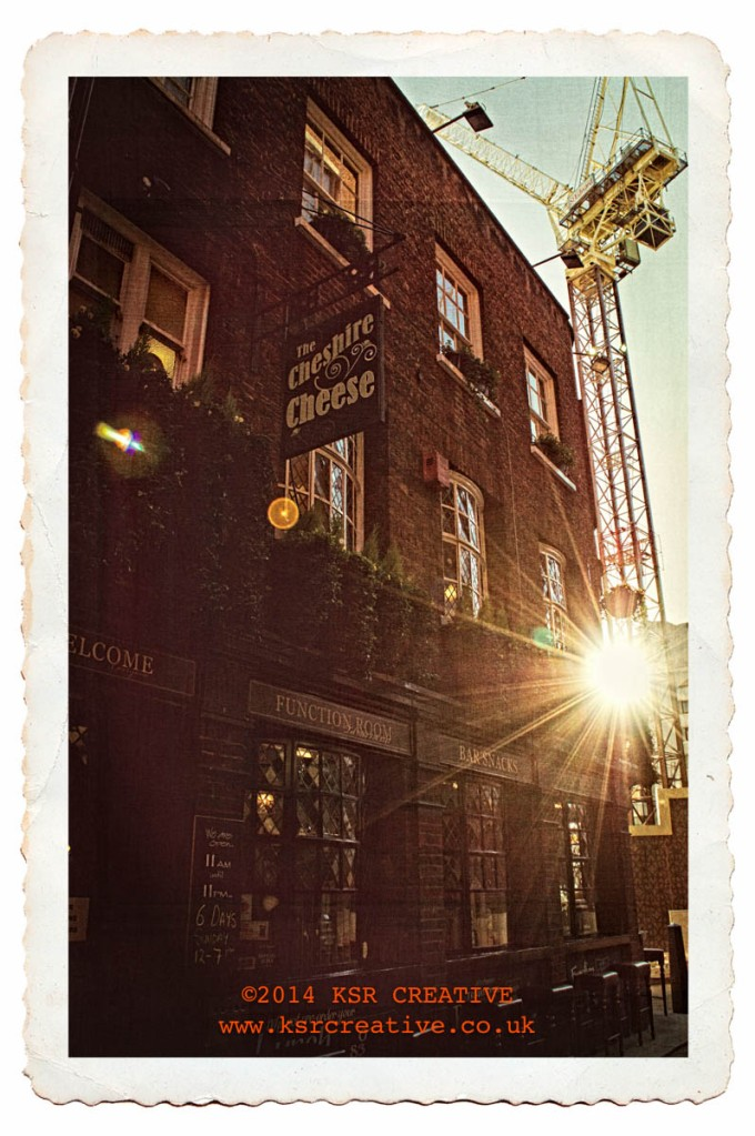 The Cheshire Cheese. Londons' oldest pub