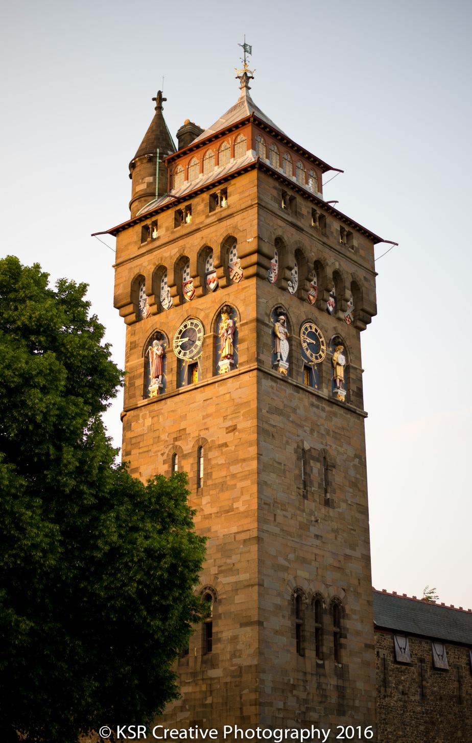 Cardiff Castle Clock Tower_Blogpic