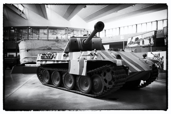 The Panther at Bovington Tank Museum